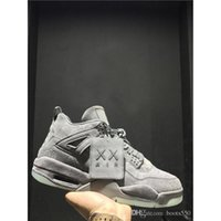 Wholesale Low Price Box Springs - 2017 Top Quality KAWS x Air 4 men basketball shoes with originals box 2017 retro IV size eur 41-47 wholesale price free shipping