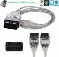 Wholesale Toyota Mini Vci Obd2 - 2017 Highest Quality MINI-VCI J2534 OBD2 USB Interface for Toyota Firmware 2.0.4 Software V12.00.127 with free shipping