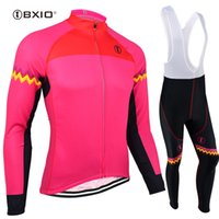 BXIO Brand Quality Cycling Jersey Winter Bike Clothing Autumn Breathable Bicycle  Clothing 3 Rear Pockets Red Ropa Ciclismo BX-128 8c52c9df2