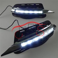 Estilo do carro LED Daytime Running Light LED DRL para Mercedes Benz W204 / C class 2007-2011