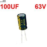 50PCS 100uF 63V 100MFD 63Volt Electrolytic Capacitor 8mm×12mm