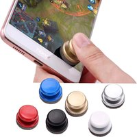 Wholesale game rocker - Hot New Universal Mini Phone Joysticks Samrtphone Game Rocker Touch Screen Joypad Controller For iPad iPhone 7 Samsung Smartph Joystick