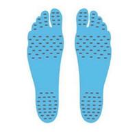 клеи для обуви оптовых-Ноги стикер клей для ног колодки палку на подошве гибкие ноги защиты пляж носок в водонепроницаемый теплоизоляции защитить обувь пляж