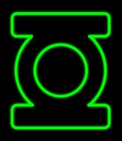 Wholesale neon sign window resale online - Green Lantern Neon Sign Customized Handmade Real Glass Tuble Window Art Home Office Pub Motel Decoration Display Neon Signs quot X17 quot