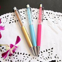 Wholesale Cheap Iphone Screens - cheap swarovski crystal stylus capacitive touchscreen pen for mobile phone for iphone capacitive screen tablet free shipment