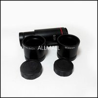 Wholesale Eyepiece Ccd - Freeshipping 0.5X C Mount Lens Microscope Adapter for CCD CMOS Camera Digital Eyepiece, Relay Lens 23.2mm 30mm 30.5mm