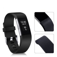 Wholesale Opp Bag For Watch - Fitbit Charge 2 Replacement Watch Bands Wristbands Water Resistance Easy Cleaning Fitness Sport Silicone Bracelet Strap With Opp Bag