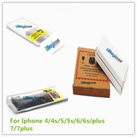 Wholesale Genuine Original Apple - Original Core Battery 1440 1560 mAh 3.7V 3.8V Battery for iPhone 4 4s 5 5c 5G 6 6s 7 7 plus Genuine 0 Zero Cycle Replacement Batteries