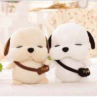 Wholesale Korean Soft Toys - Wholesale- New Fashion Korean Plush Dog 15cm Lovers Presents Creative Cottton Animal Soft Stray Dogs Toys For Children, Free Shipping