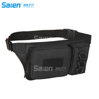 Wholesale Tactical Waist Pack Bag With Water Bottle Pocket Holder Hip Belt Bag Pouch for Hunting Camping Trekking