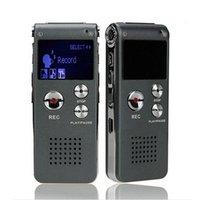 Wholesale Audio Recorder Player - Voice Recorder 8GB Mini USB Flash Digital Audio Voice Recording 650Hr Dictaphone MP3 Player