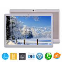 Wholesale Hd Phone Tablets - Wholesale- Brand New 10 inch Octa Core Tablet PC 4GB RAM 32GB ROM 1280*800 IPS HD Screen Android 5.1 GPS Tablets DHL POST Free Shipping