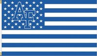 Wholesale Falcon X - US Air Force Falcons Flag 90 x 150 cm Polyester NCAA Stars And Stripes Banner
