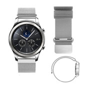 Wholesale Metal Gear Watch - 22MM Magnetic Milanese Loop For Samsung Gear S3 Classic S3 Frontier Watch Band Bracelet Strap Stainless Steel Metal Wrist Band