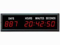 Wholesale Led Digital Count Up - EU Electronic 1.8'' Red Color LED Countdown Clock Count Up With IR remote