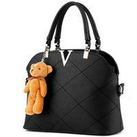 Wholesale Crossbody Phone Purses - Wholesale- women messenger bags luxury tote crossbody purses leather clutch handbags famous brands designer dollar price 2016 High quality