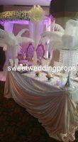 Wholesale Crystal Ball For Centerpiece - acrylic crystal Feather Ball centerpieces for Weddings Decorative, Wishies White feather ball centerpiece