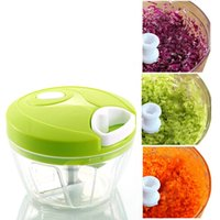Wholesale Plastic Cutting Press - Essential Kitchen Tools Onion Vegetable Chopper Multifunctional Hand Speedy Chopper Vegetable Fruits Chopped Shredders & Slicers Cutting