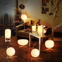 E27 painting light fixtures - New Modern Brief LED Glass globe floor light led table lamps bedside lamp living room light fixture LED night lights modern floor lamp