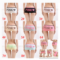 Wholesale Sexy Boy Shorts Panties - Pink Underwear Girl Sexy Cotton Women Lace Underwear Tanga Bragas Briefs Women's Panties Briefs Free DHL XL-A73