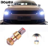 Wholesale Vw Tiguan Led - BOAOSI Car Canbus LED T10 W5W Clearance Parking Light Wedge Lights For VW POLO Golf 5 6 7 GTI Passat B5 B6 B7 Jetta Bora MK5 MK6 Tiguan Eos