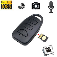 Spy Car Key Camera cachée FULL HD 1080p MINI Car KeyChain Camera Hidden DVR Portable Pinhole Enregistrement de la caméra de sécurité