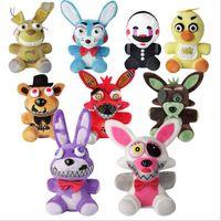 Wholesale Fox Games - New Style 18cm Five Nights at Freddys Bear Toys Anime Bear & Rabbit & Duck & Fox Stuffed Plush Dolls Cartoon Toy For Kids Children Gift