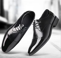 Wholesale Dresses Daily - New lace men's leather business suits shoes daily casual men's shoes wholesale low to help shoes