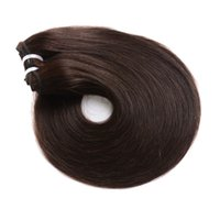 Wholesale hair weave clip for sale - Group buy Brazilian Virgin Hair Extensions Straight Hair Clip In Color Unprocessed Human Hair Weaves Pieces set Full Head g