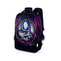 Wholesale Side Bags Men - Colorful Space Men 3D Printed Unisex School Backpack Student Bags Side Zipper Bag Outdoor Travel Backpacks BB057BL
