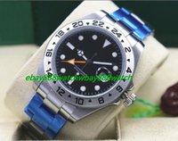 Wholesale Silver Mint Bracelet - Top Quality Luxury Wristwatch Steel Bracelet II 40mm 216570 Polar Black Stainless Watch -MINT Automatic Mechanical Men Watches