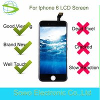 Wholesale New Lcd Screen For Mobile - Factory price brand new original display for iPhone 6 LCD screen repair,mobile phone screen for iPhone 6 LCD