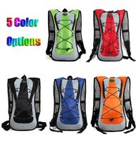 Barato Bicicleta De Estrada De Laranja Preta-Hot Sale 5L Hydration Mochilas para bicicletas WaterProof Outdoor Racing MTB Road Bikes Bages Green Blue Orange Red Black Colors Cycling Bag