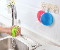 Wholesale Toilet Cleaning Accessories - New Multi-fonction Magic Silicone Dish Bowl Cleaning Brushes Scouring Pad Pot Pan Wash Brushes Cleaner Kitchen Accessories