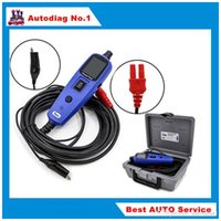 Wholesale Gm Electric Car - Power Probe Car Electric Circuit Tester Automotive Tools Auto 12V Voltage Vgate Pt150 Electrical System Tester as Autek YD208