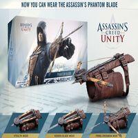 Wholesale Assassin Creed Ezio Toy - Free Shipping Cosplay NECA Assassins Creed 5 Hidden Blade Brinquedos Ezio Auditore Gauntlet Replica PVC Action Figure Model Kids Toys