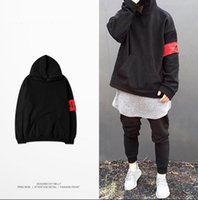 Wholesale Kanye West Sweater - Japanese Kanye west yeezus Hoodies men women 424 FourTwoFour hooded Y-3 sweatshirt clothes hip hop purpose street streetwear sweater