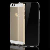 Wholesale Iphone 4s Cases Skins - Transparent TPU Gel Crystal Clear Ultra Thin 0.3mm Clear Soft Back Case Cover Skin for iPhone 4 4s 5 5s 5c 6 Plus 6s Plus 7 Plus