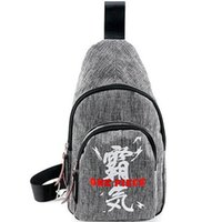 Wholesale Sport Pieces Boys - One piece sling backpack Luffy chest bag Anime day pack One shoulder rucksack Single strap case Outdoor sport waist pouch