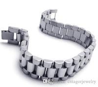 pulseras estilo hombres al por mayor-Pulsera para hombre de acero inoxidable 316L con pulsera de eslabones para hombres BYS088, regalo caliente