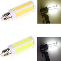 Wholesale Bull Lamp - E27 9W COB LED Corn Spotlight Lamp Bulb AC220V Warm Pure White Bright lighting bulls tubes led
