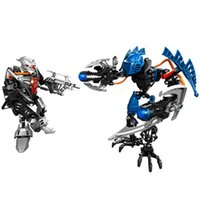 Hero Factory 5.0 2 Dans 1 Star Soliders Demon Vapor VS Bulk Robot Building Blocks Figure d'action Jouets pour enfants Brick Toys