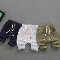 Wholesale Harem Trousers Children - 2017 New Children casual Clothing Pant for Kids Trousers Sweatpants Summer Solid color Comfort Pants Boy's Girl's Harem pants