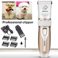 Wholesale Dog Cordless - Baorun Rechargeable Cordless Dogs Cats Grooming Clippers Professional Pet Hair Clippers For Dogs Grooming Tool Trimming Kit C29L