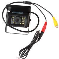 Wholesale Shock Camera - Waterproof And Anti-Shock LED Rear View Night Vision Car Truck Bus Vehicle Van Monitor Backup Camera CAL_00L