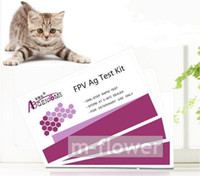 Wholesale FPV One Step Feline Parvovirus Rapid Test Kit tests box