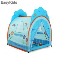 Juguetes portátiles Tienda de campaña Hada Playhouse kids Funny Beach Indoor Outdoor Boy Girl Princesa Castle Teepee Room Game Play Tents