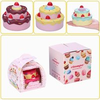 Wholesale Cheap Cake Boxes Wholesale - Vlampo Squishy Layer Birthday Cake Slow Rising Original Packaging Box Gift Collection Decor Toy High Quality birthday cake Cheap cake toy