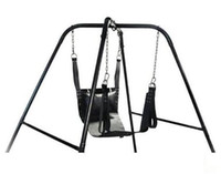ingrosso pelle di amaca-HOT Leather Sling Sex Hammock Sex Swing Chair Letto in pelle Hammock and Pillow Gioco per adulti