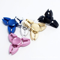 Wholesale Crab Hand Spinner Fidget Spinner Triangle Torqbar Finger Claw Gyro EDC Focus ADHD Autism Finger Toys For Fidget Spinner With Retail Package